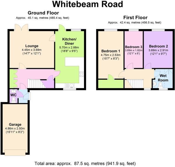 25 Whitebeam Rd - Fl