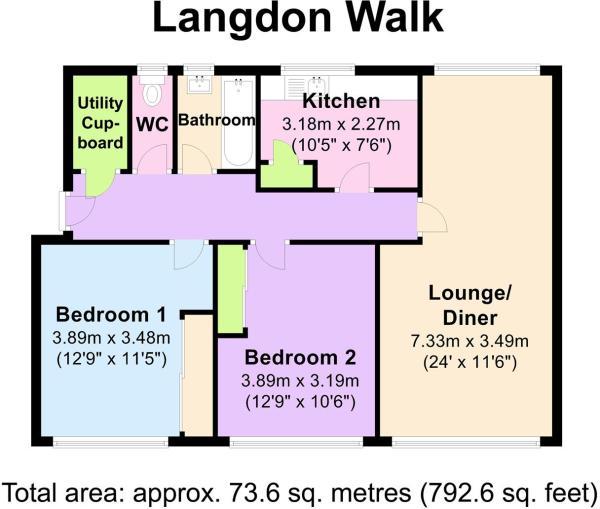 20 Langdon Walk - Fl