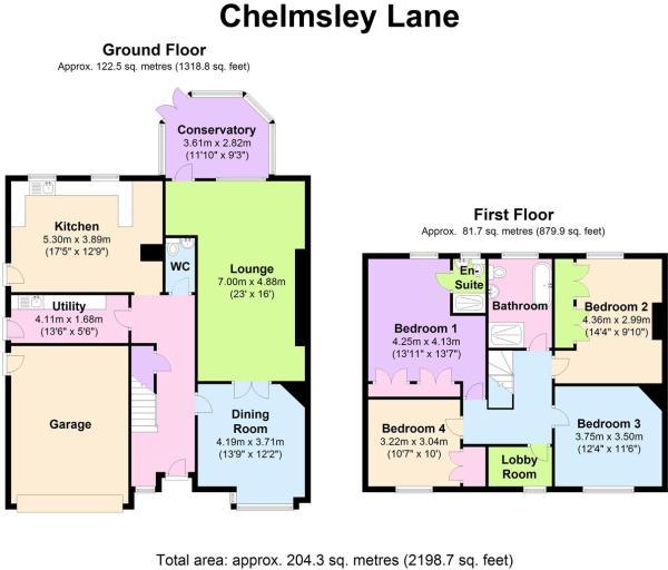 3 Chelmsley Lane - F