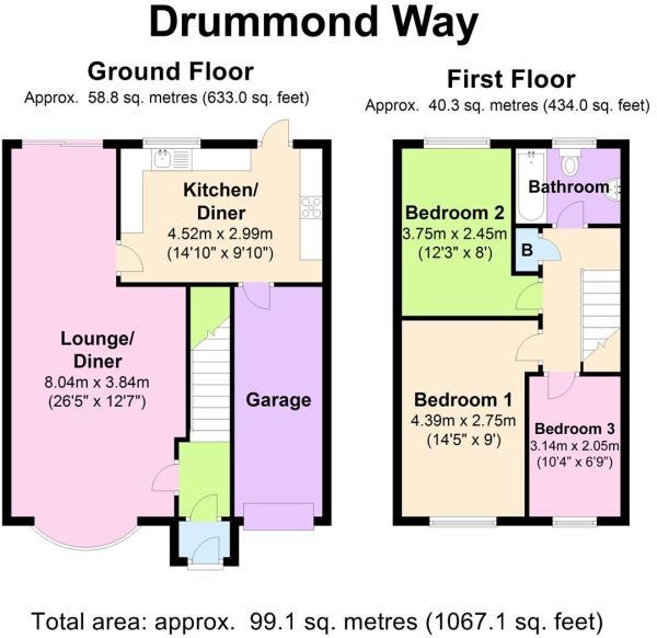 17 Drummond Way - Fl