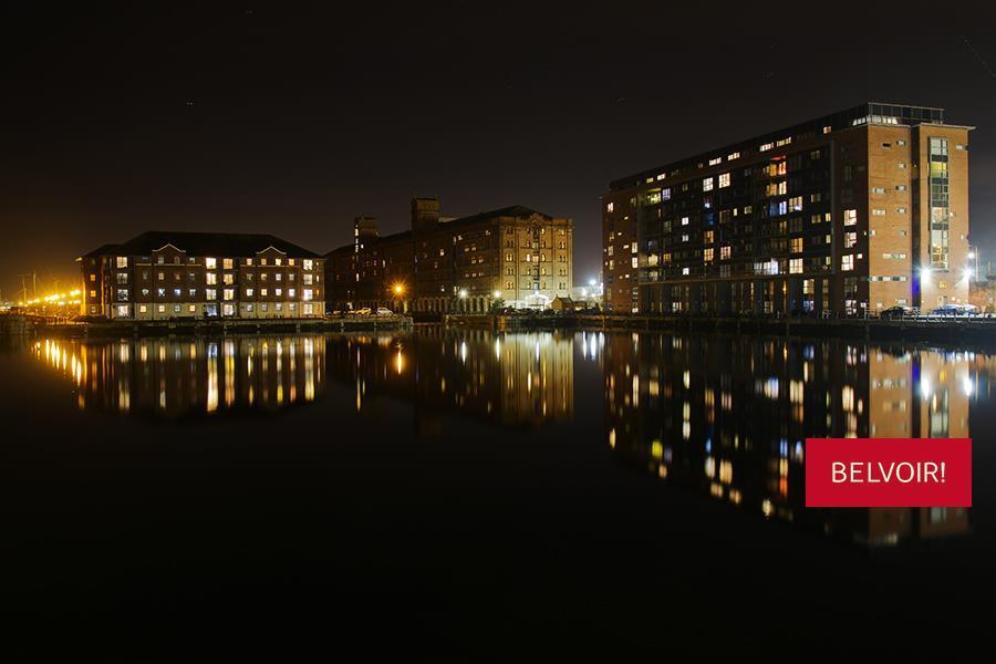 Night time on Docks
