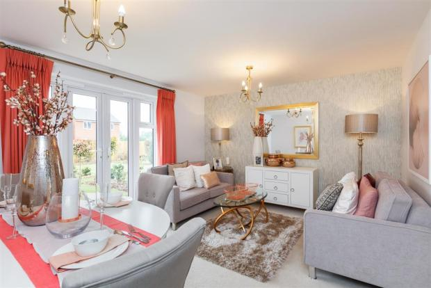 Image of a Typical Taylor Wimpey Flatford lounge