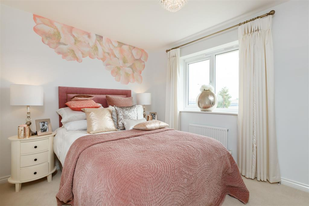 Image of a Typical Taylor Wimpey Flatford bedroom