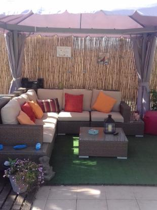 outdoor chill area