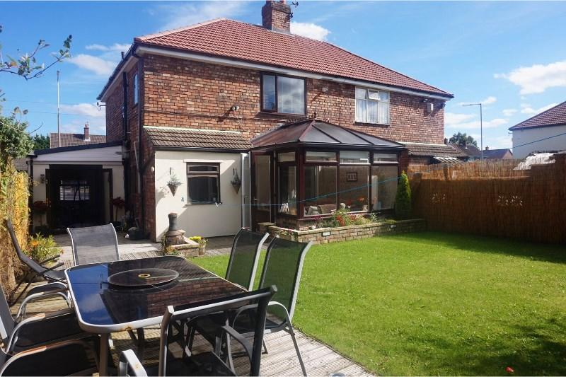 3 bedroom semi detached house for sale in mackets lane for Furniture 66 long lane liverpool