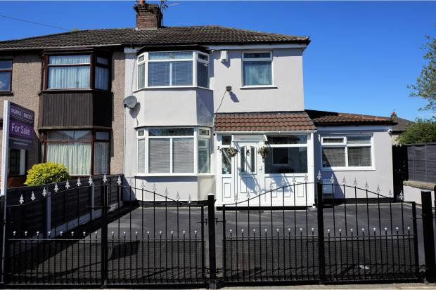 4 bedroom semi detached house for sale in page moss lane for Furniture 66 long lane liverpool