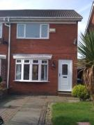 2 bed semi detached property in Kestrel Way...
