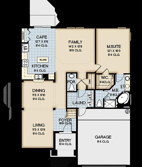 First (ground) floor