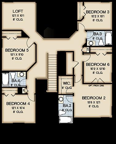 Second (2nd) floor