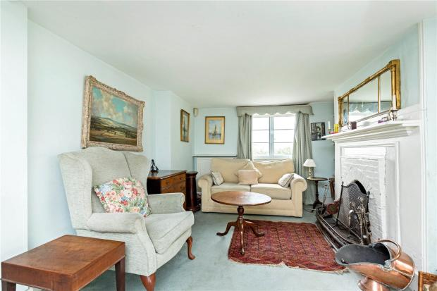 Half Of Living Room