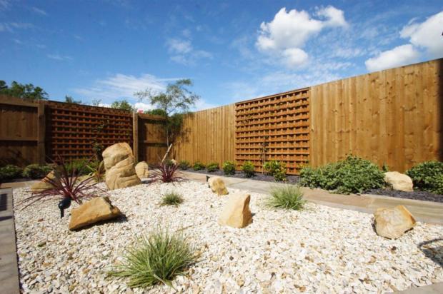 Rear Patio & Garden