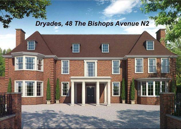 Property for sale in the bishops avenue london n2 n2 for The bishop house