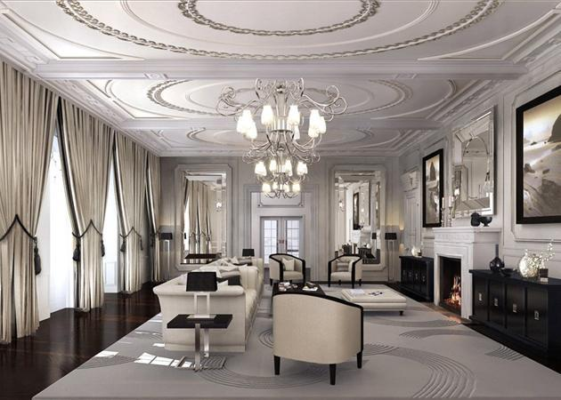 Reception Room - Cgi