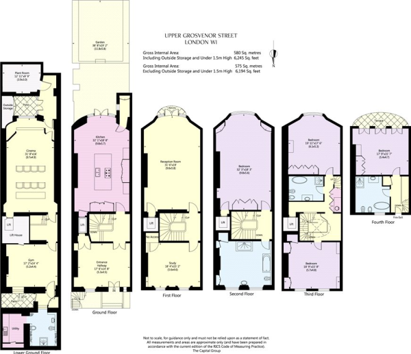 4 Bedroom Terraced House For Sale In Upper Grosvenor