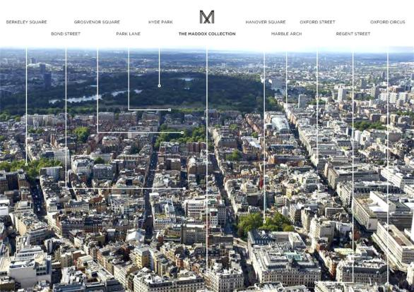 Mayfair:  Aerial