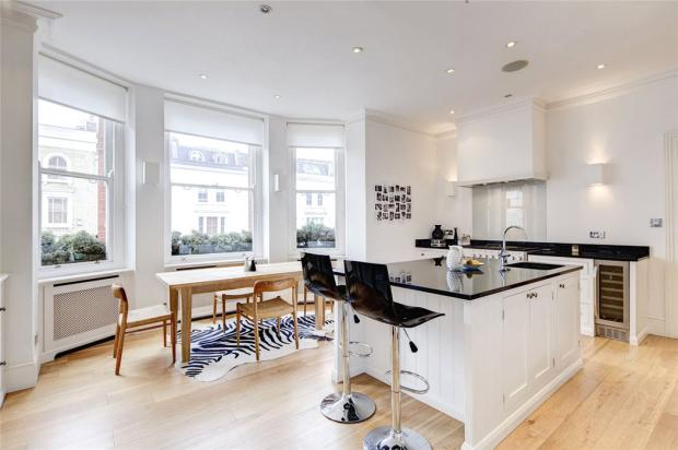 5 bedroom flat for sale in prince edward mansions moscow for Kitchen ideas westbourne grove