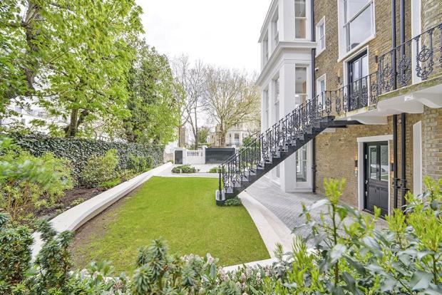 8 bedroom detached house for sale in pembridge square for 18 leinster terrace london w2 3et