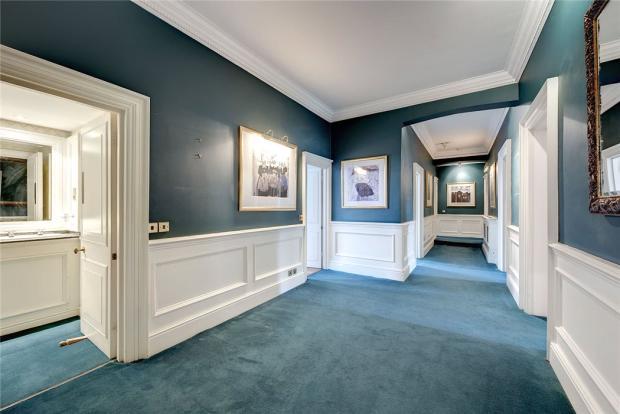 Hallway, W2