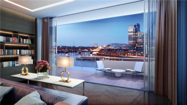 4 Bedroom Flat For Sale In Thames Side Penthouse King S