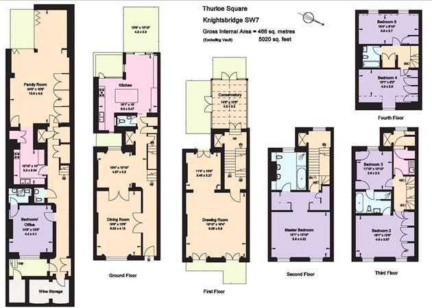 6 bedroom terraced house for sale in thurloe square south for 15 selwood terrace south kensington london sw7 3qg