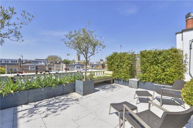 Roof Terrace Sw3