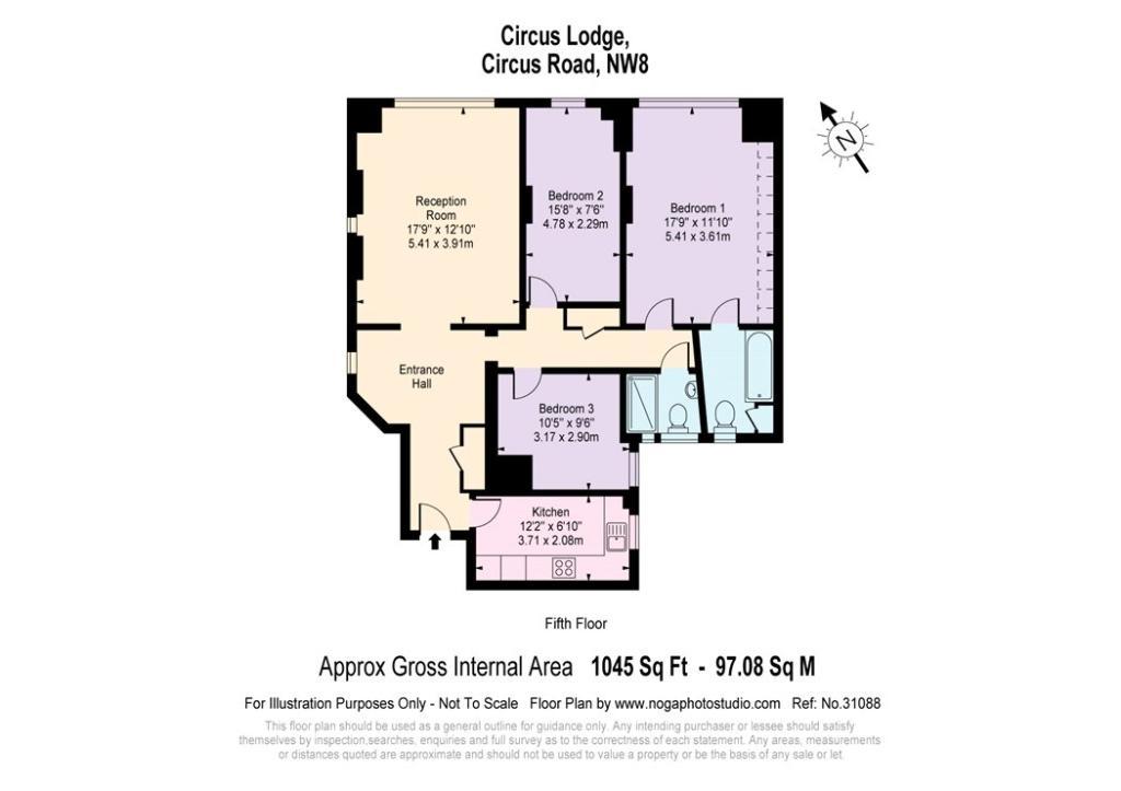 Floor Plan, Nw8