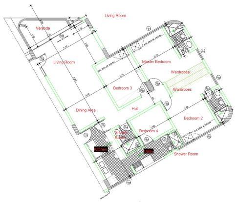 113m2 Floorplan