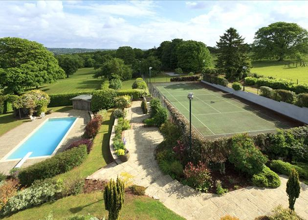 Pool and Tennis