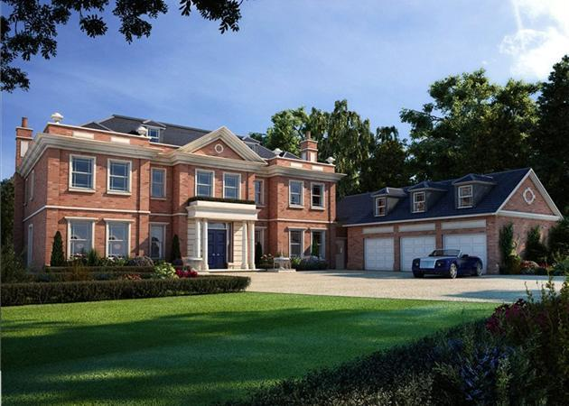 7 bedroom house for sale in woodside road beaconsfield for Modern luxury homes for sale uk