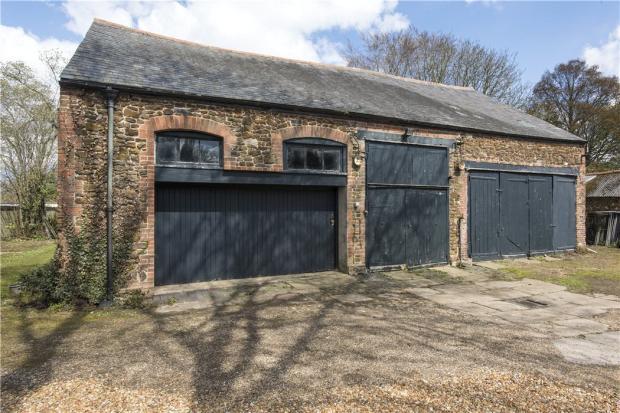 3 Large Garages