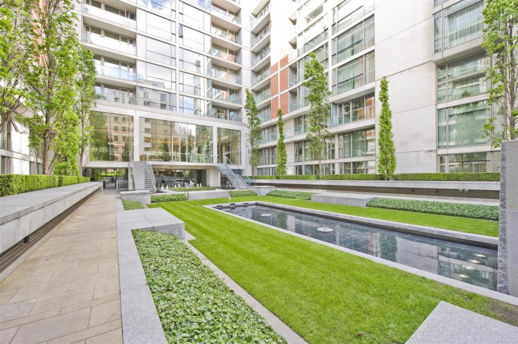 Communal courtyard g