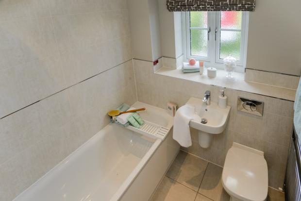Eg. Family Bathroom