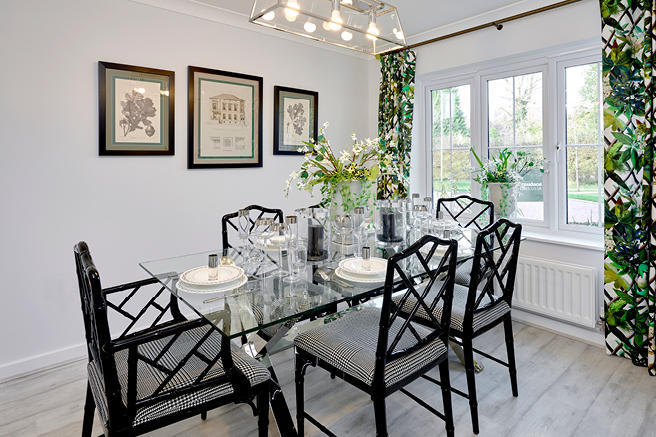 Croudace Homes,Dining room