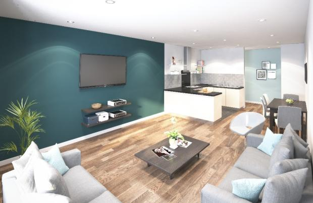 Cluster Living Area