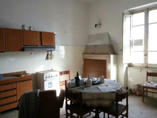 Kitchen with stove