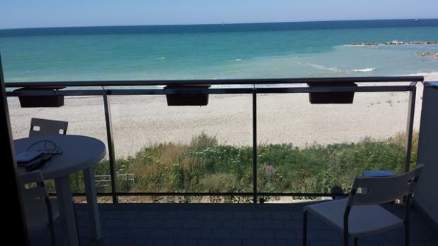 Beach view balcony 1