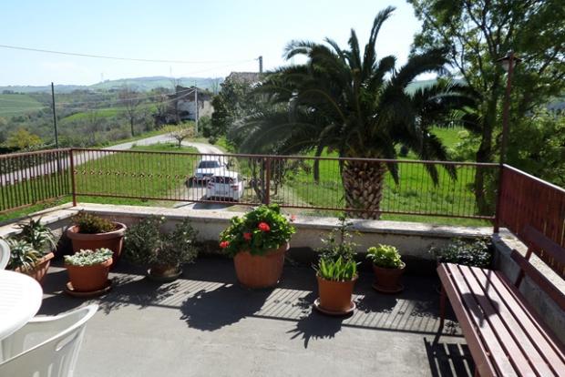 Outside veranda