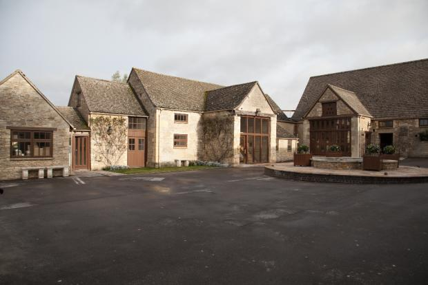 Unit 4 courtyard