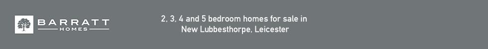 Barratt Homes, New Lubbesthorpe