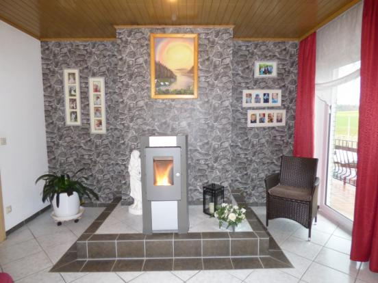 Fireplace lounge