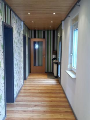 Hallway rented flat