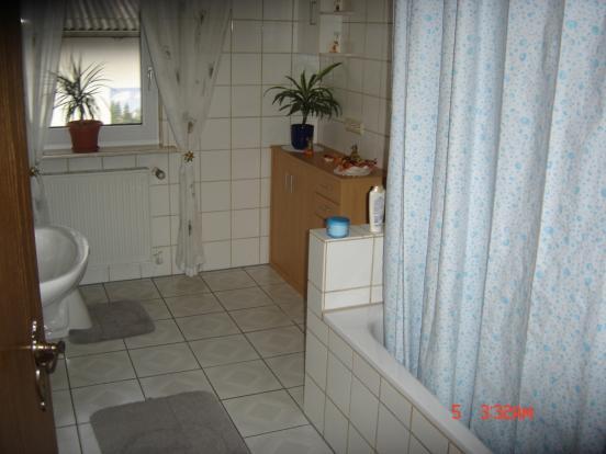 Bathroom rented fl.