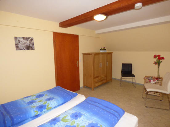 Bedroom top floor