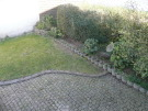 Cobbled yard/garden