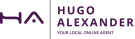 Hugo Alexander Estate Agents, Stockport logo
