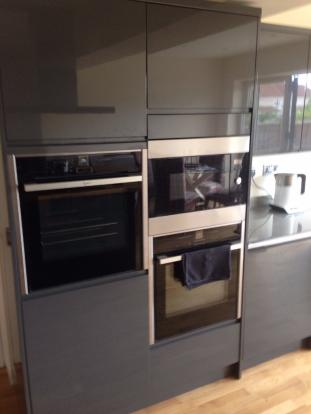 Two Double ovens