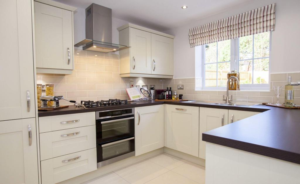 Typical Cambridge fitted kitchen