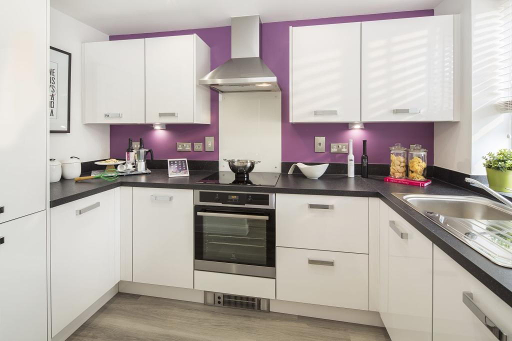 Typical fitted kitchen