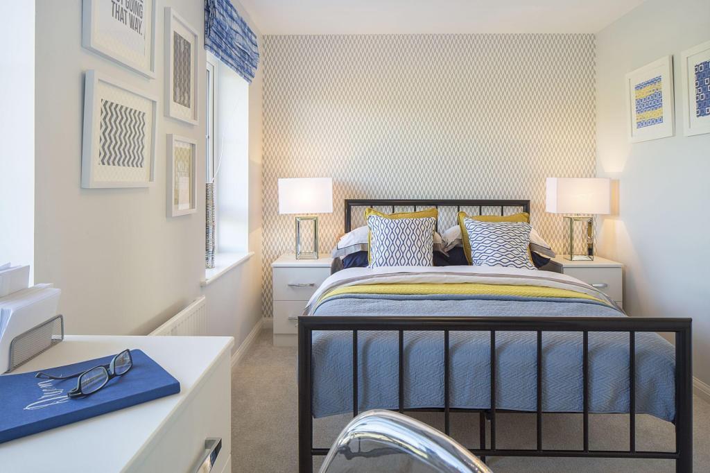 Typical Tiverton master bedroom