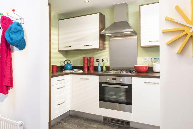 Typical Tiverton fitted kitchen
